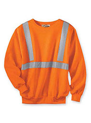WearGuard® Class 2 High-Visibility Crewneck