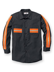 ARAMARK enhanced-visibility long-sleeve shirt