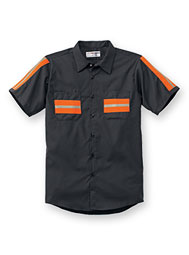 ARAMARK Enhanced-Visibility Short-Sleeve Shirt