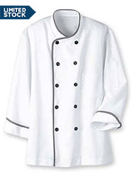 color trim executive chef coat