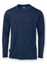 TecGuard™ Long-Sleeve Jersey-Knit Crewneck