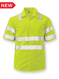 Aramark Class 3 Short-Sleeve Work Shirt