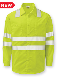Aramark Class 3 Long-Sleeve Work Shirt