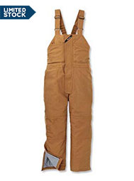 UltraSoft® Flame-Resistant Insulated Bib Overalls
