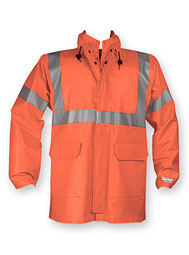 Hi-Vis Foul Weather Flame-Resistant Jacket