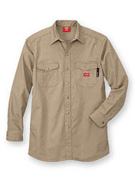 Dickies® Flame-Resistant Snap-Front Shirt