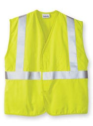 High-Visibility Flame-Resistant ANSI II Vest