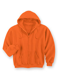 UltraSoft® Flame-Resistant Full-Zip Hooded Sweatshirt