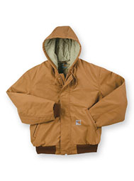 Carhartt® Duck Active Jacket With Attached Hood