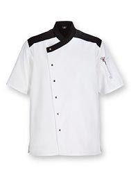 Aramark Crossover Neck Chef Coat