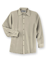 ARAMARK Pocketless Snap-Front Shirt