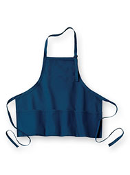 WearGuard® Three-Pocket Bib Apron