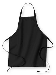 WearGuard® No-Pocket Bib Apron