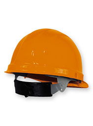 Ratcheting Rain Brim Hard Hat