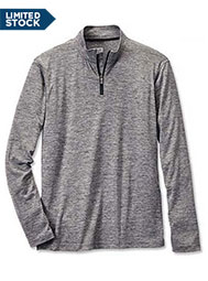 ¼-Zip Athletic Knit