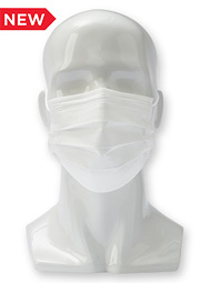 "7"" 3-Ply Disposable Mask (50 Pack)"