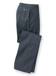 dickies® women's flat-front work pants