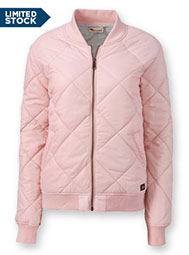 Dickies® Women's Quilted Bomber Jacket