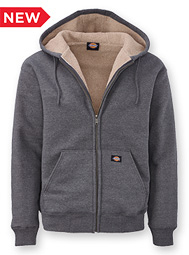 Dickies® Sherpa Lined Hooded Sweatshirt