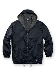 dickies® hooded ripstop jacket
