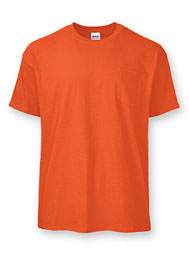 Ultra Blend® Short-Sleeve T With Pocket