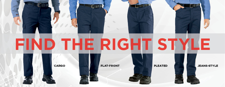 WearGuard Pants and Shorts exclusively at Aramark.  Large selectoin, including navy blue work pants, elastic waist cargo pants, jeans and more.